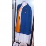 Abington Hospital student uniform including cape (Dixon School of Nursing)