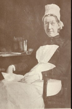 Miss Alice Fisher chief nurse 1885-1888 PGH